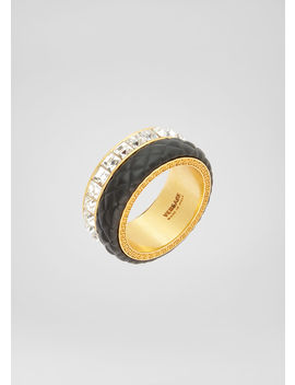 Matelassé Ring by Versace