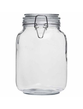 Wilko 1.5 L Glass Jar Wilko 1.5 L Glass Jar by Wilko