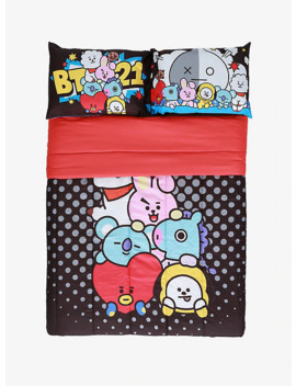 Bt21 Cuddle Pile Full/Queen Comforter by Hot Topic