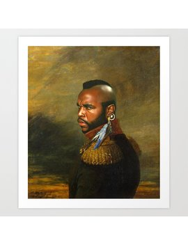 Mr. T   Replaceface Art Print by Society6