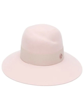 Wide Brimmed Hat by Maison Michel
