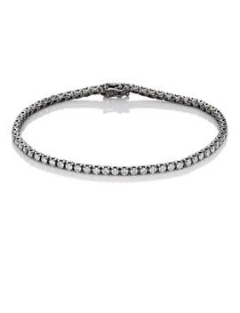 Diamond Tennis Bracelet by Eva Fehren