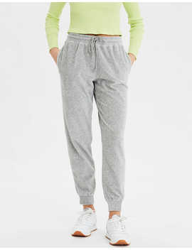 Ae Fleece Velour Jogger by American Eagle Outfitters