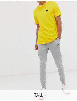 Nike Tall Tech Fleece Cuffed Jogger In Grey by Nike