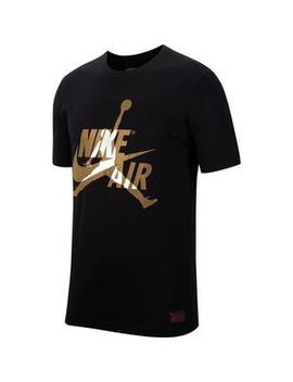 "Jordan Men's Classic ""Black/Gold"" Short Sleeve T Shirts Jordan Men's Classic ""Black/Gold"" Short Sleeve T Shirts by Hibbett"