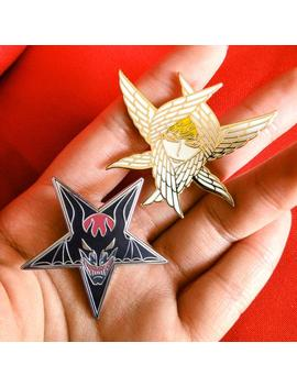 Devilman Crybaby | Akira Fudo & Ryo Asuka | Enamel Pin by Etsy