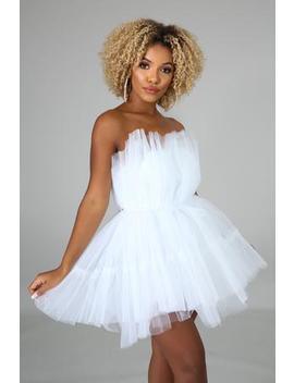 Tulle Tube Dress by Gitionline