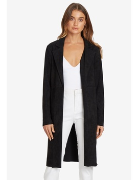 Niamh Faux Suedette Coat by Chancery