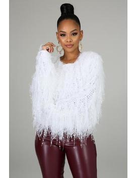 Statement Piece Knit Sweater by Gitionline