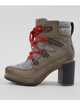 Blake™ Leather Heeled Hiker Boot by Sorel