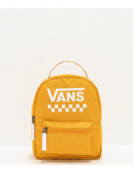 Vans Sporty Realm Yellow Mini Backpack by Vans