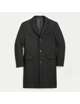 Everyday Glen Plaid Topcoat With Eco Friendly Prima Loft® by Everyday Glen Plaid Topcoat With Eco Friendly Prima Loft