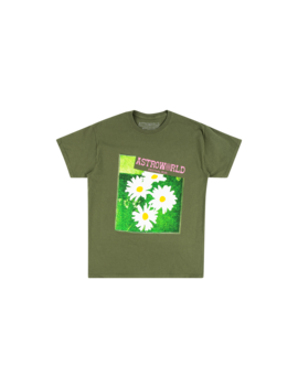 Green Washed Tee by Travis Scott