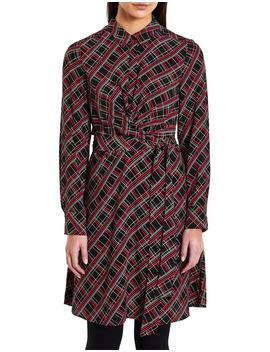 Check Shirt Dress by Marcs