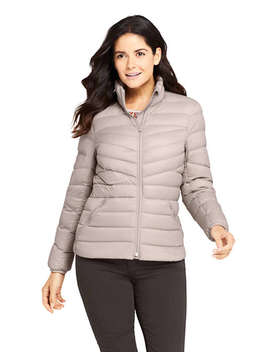 Women's Petite Ultralight Packable Down Jacket by Lands' End
