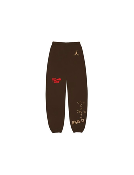Travis Scott Jordan Cactus Jack Highest Sweatpant Brown by Stock X