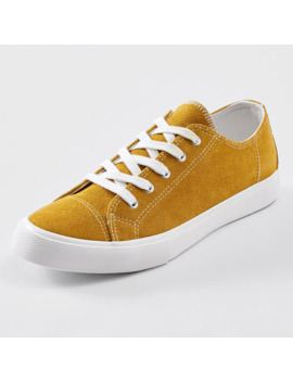 Paloma Suede Sneakers   Yellow by Target