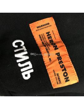 Heron Preston Mens Designer Hoodies Sweatshirts Luxury Men Women Designer Hip Hop Jacket Long Sleeves Mens Hoodies by D Hgate.Com