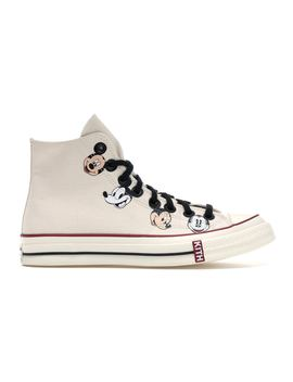 Converse Chuck Taylor All Star 70s Hi Kith X Disney Egret by Stock X
