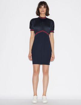 Mixed Viscose Dress by Armani Exchange