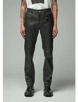 Leather 5 Pocket Pant by 1017 Alyx 9 Sm