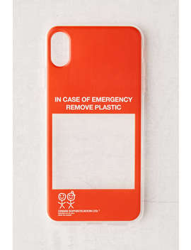 Urban Sophistication In Case Of Emergency I Phone Case by Urban Sophistication