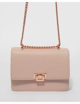 Pink Roxy Crossbody Bag by Colette Hayman