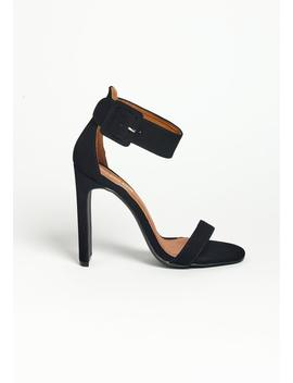 Asoph Precious Ankle Strap High Table Heels by Asoph