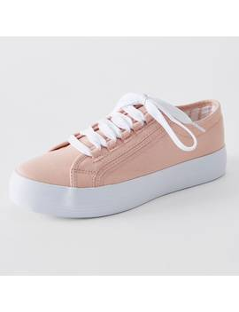 Penelope Flatform Canvas Sneakers   Pink by Target