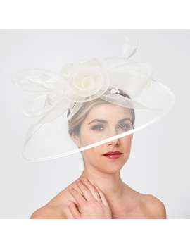 Crinoline Place Fascinator   Ivory by Target