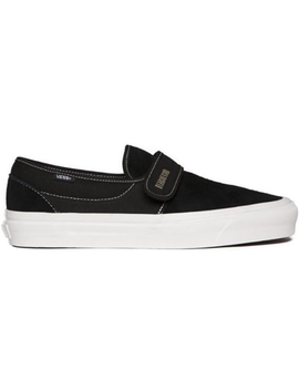 Vans Slip On 47 Fear Of God Maxfield Black Suede by Stock X