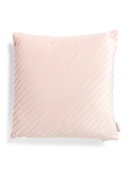 20x20 Pleated Velvet Pillow by Tj Maxx