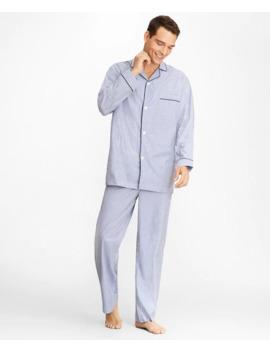Stripe Pajamas by Brooks Brothers