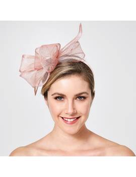 Sinamay Twisted Fascinator   Blush by Target