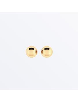 14 K Gold Ball Earrings    Small Sphere Yellow              Regular Price        $79 by Ana Luisa