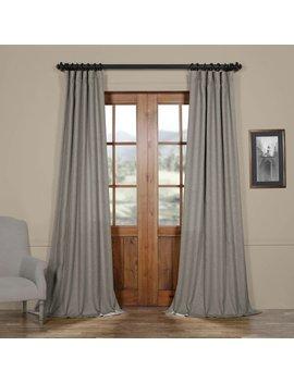 Brittnie Solid Room Darkening Rod Pocket Single Curtain Panel by Birch Lane