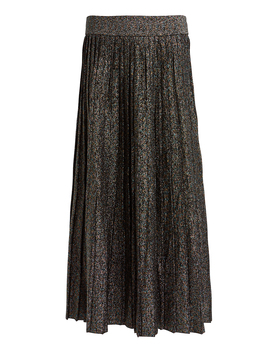 Nevada Metallic Pleated Skirt by A.L.C.
