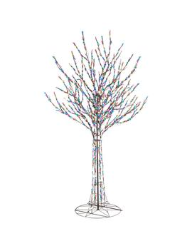 96 In. Led Pre Lit Bare Branch Tree With Multi Color Lights by Home Accents Holiday