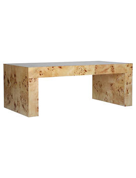 Chloé Coffee Table, Honey Burl by Ave Home