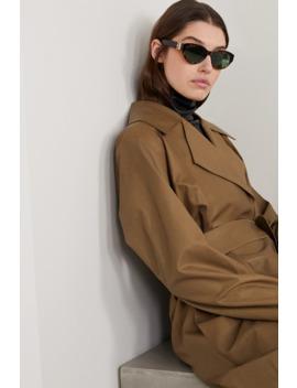 Cat Eye Tortoiseshell Acetate Sunglasses by Givenchy