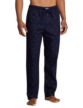Logo Cotton Pyjama Pants by Polo Ralph Lauren