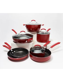 Ayesha Curry Home Collection 11 Piece Nonstick Cookware Set by Ayesha Curry