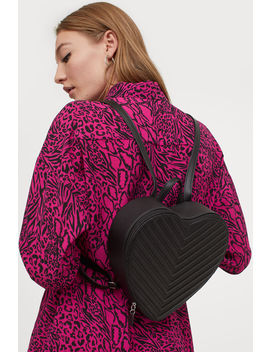 Heart Shaped Backpack by H&M