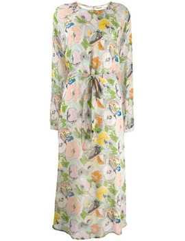 Floral Print Midi Dress by Essentiel Antwerp