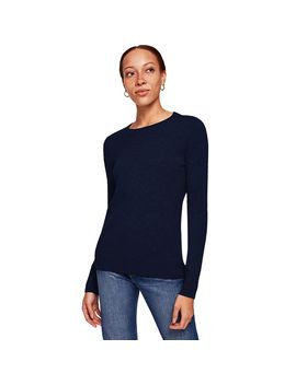 Essential Crewneck Sweater   Women's by White + Warren