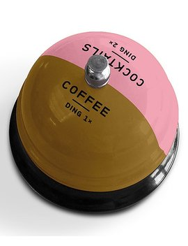 Coffee Ding Ding Bell by Knock Knock