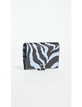 Snap Zebra Wallet by Ganni