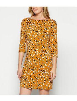Stylist Pick Orange Animal Print Dress by New Look