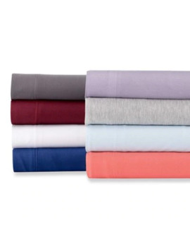 Pure Beech® Jersey Knit Modal Full Sheet Set In Black by Bed Bath And Beyond