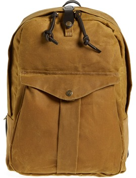 'journeyman' Coated Canvas Backpack by Filson